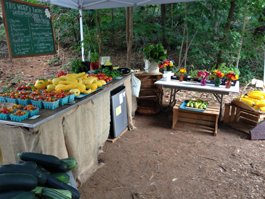 The Garden School Farm Stand